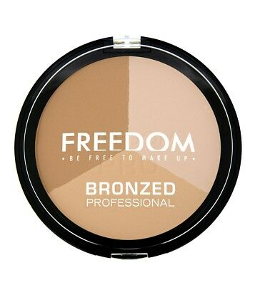 Freedom Makeup London Bronzed Professional Pro - Warm Lights suits fair skin