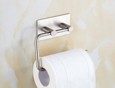 Xogolo Self Adhesive Toilet Paper Holder Wall Mount, SUS 304 Stainless Steel,