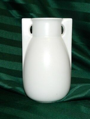 """TECO POTTERY 2-Buttress Vase 6.5"""" Tall  William D. Gates #399A"""
