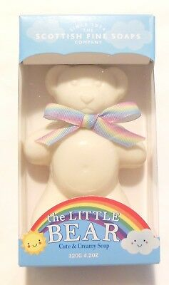 Scottish Fine Soaps The Little Bear Soap Cute soap for all ages NEW