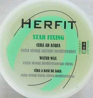 Herfit - Star Fixing Cera Ad Acqua Extra Strong Agrumi Mediterranei 100ml