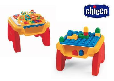 Chicco Music 'N Play Kids Toddler Activity Table Reversible Top -EUC NOW 10% OFF