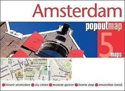 Amsterdam Popout Map - New - Current Edition - Pocket - Pop Out