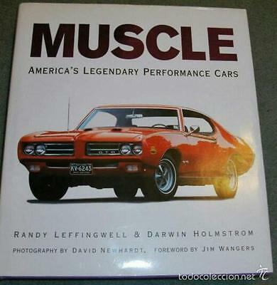 Muscle America's Legendary Performance Cars Leffingwell Holmstron Book Livre