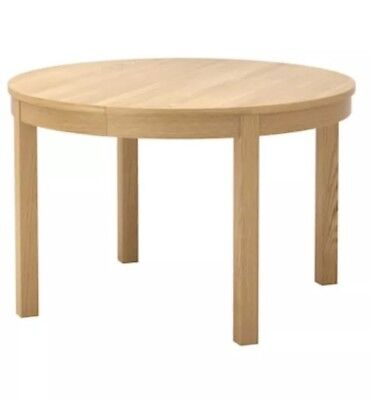 IKEA Round Extendable Dining Table