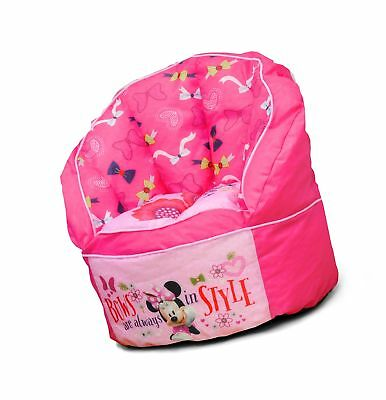 Disney Minnie Toddler Bean Bag Chair Pink Idea Nuova La Wk319330