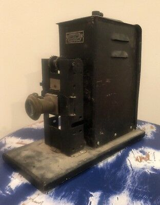 Vintage Keystone Moviegraph Projector Model No. 154w Theater Antique