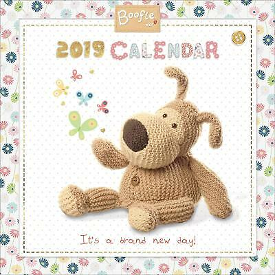 Boofle Square Wall Calendar 2019 Family Planner Organiser Month To View