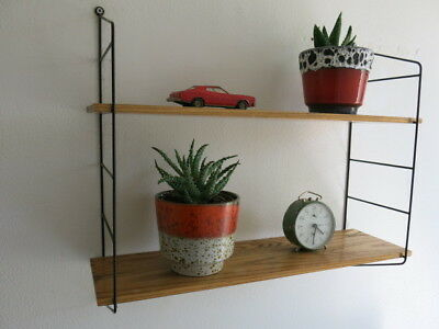 Vintage Mid Century String Shelving Unit 20th Century Shelves