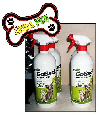 Disabituante Cani & Gatti GO BACK da 750ml con Limoni di Sicilia MADE in ITALY