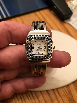 Ecclissi Sterling Silver Ladies Watch Beautiful With New Battery