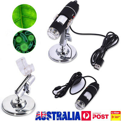 1600X 8-LED USB Digital Microscope Endoscope Magnifier Electronic Video Camera