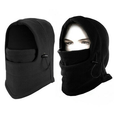Winter Thermal Fleece Balaclava Hood Cap Ski Mask Cover Hat Scarf Neck Warmer C2