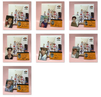 NCT DREAM 2nd Mini Album WE GO UP Opened CD with Booklet + PHOTOCARD No Poster