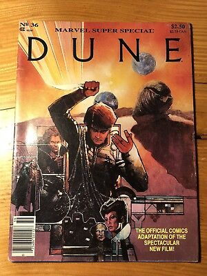 Marvel Super Special #36 - Dune Movie Official Comic Adaptation - 1984