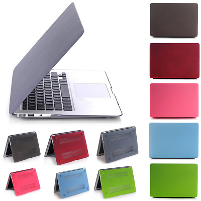 """Rubberized Matte Hard Case Cover Skin for Macbook Pro Air 11""""/12""""/13""""/15"""" LOT YK"""
