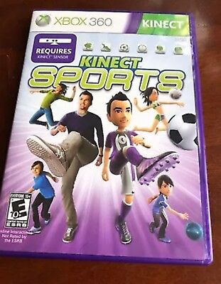 Kinect Sports (Xbox 360, 2010) Microsoft Video Games FREE SHIPPING