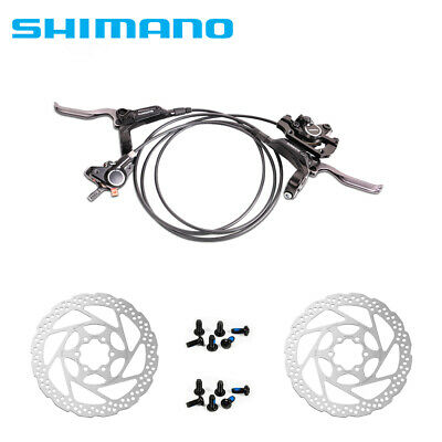 Shimano BR-BL-M365 MTB Hydraulic Disc Brakes Set With 160mm Rotors ORIGINAL