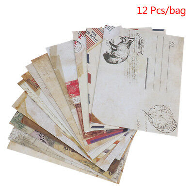 Mini Cute Ancien Paper Envelope Retro Vintage Style For Card Scrap booking   R