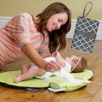 Waterproof Portable Baby Nappy Diaper Changing Mat Pad Travel Clutch Baby Care