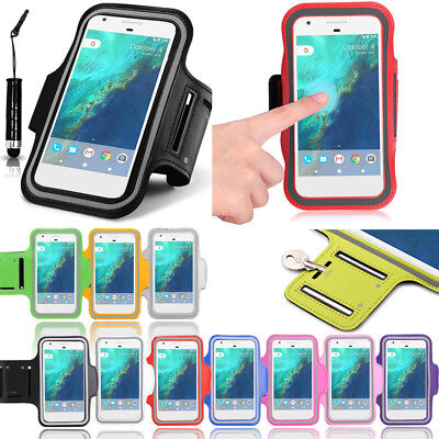 Fancy Gym Armband For Google Pixel 2 XL Running Exercise Case With Stylus Pen