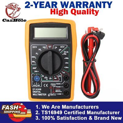 DT-830B Digital Multimeter AC DC Voltmeter Ohmmeter Electrical Multi Tester Cool