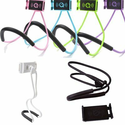 Lazy Hanging Neck Phone Stand Mount Necklace Support Bracket Holder for iphone
