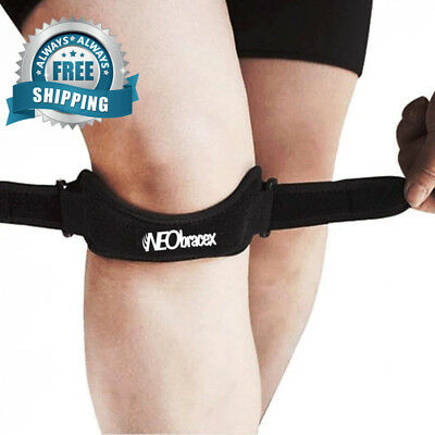 NEObracex Patella Tendon Strap Knee Pain Relief & Stabilizer for Jumpers...
