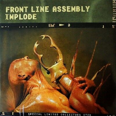 FRONT LINE ASSEMBLY Implode - 2LP / Vinyl - Limited Edition