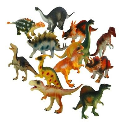 Large Soft Plastic Stuffed Dinosaur Play Toys Animals Action Figures For Kids
