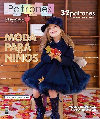 SEWING Pattern MAGAZINE book Baby girls' dresses boys fashion Autumn Winter NEW