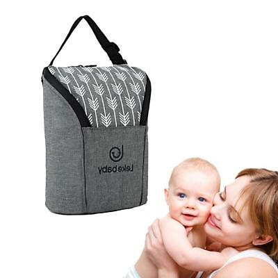Milk Bottle Insulation Bag Cup Hang Thermal Warmer Tote Baby Cover Mummy Pouch