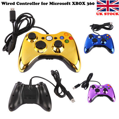 USB Wired Controller Gamepad Console Joypad Joystick For Microsoft XBOX 360