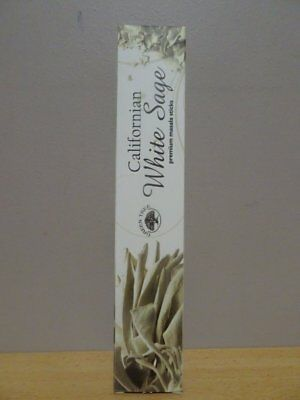 Californian White Sage Incense 1 Pack x 15g  Premium Masala Sticks  Free Post AU