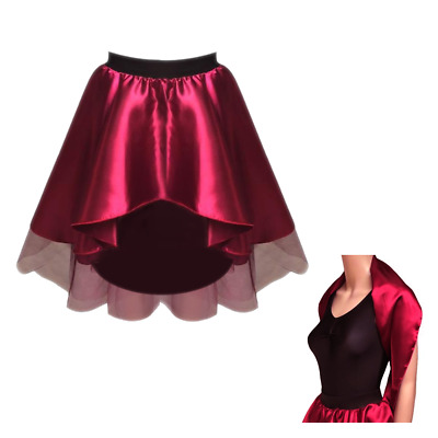 Girls The Greatest Showman Bearded Lady Costume Skirt And Wrap This