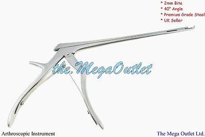 "8"" KERRISON RONGEURS Upward Cutting at 40° Angle 2mm Bite - CERVICAL ORTHOPEDIC"