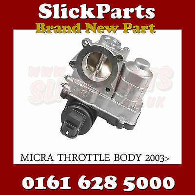 Throttle Body For Micra Note 1.0 1.2 1.4 2003 2004 2005 2006 2007 2008 2009