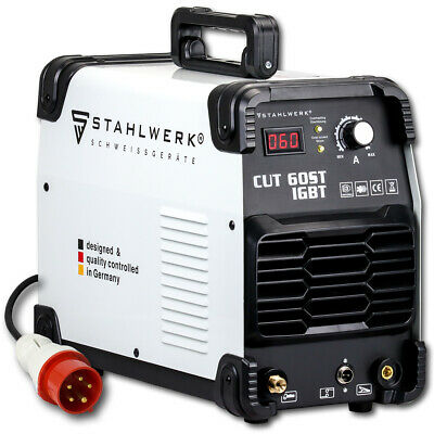 PLASMA CUTTER - STAHLWERK CUT 60 ST IGBT INVERTER / Cutting power up to 24 mm