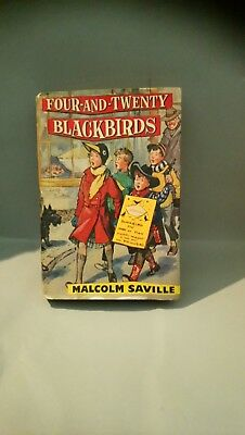 """FOUR-AND-TWENTY BLACKBIRDS"" by Malcolm Saville. 1st edition."