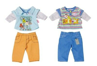 Baby Born Doll Boys Top & Pants