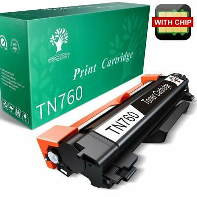 TN760 with Chip (TN730) for Brother TN-760 Toner DCP-L2550DW MFC-L2710DW L2370DW