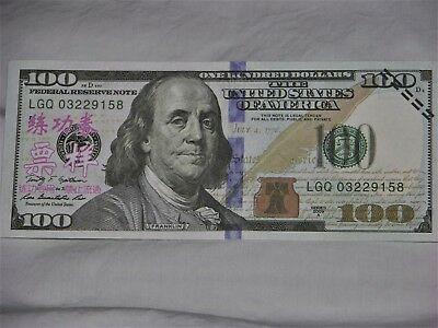 Play $100 Dollar Bill - New - Lot Of 25 Bills