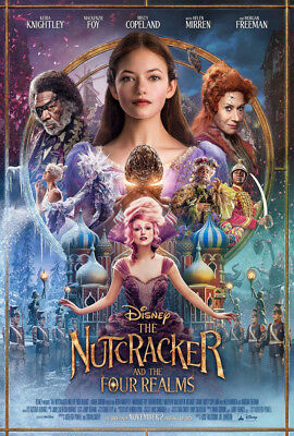 THE NUTCRACKER AND THE FOUR REALMS MOVIE POSTER 2 Sided ORIGINAL FINAL 27x40
