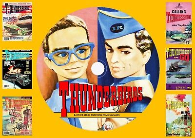 Thunderbirds & Other Gerry Anderson Comics & Mags On DVD Rom