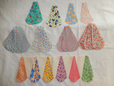 Vintage Orphans:  Ice Cream Cone Border Cut-Outs - Lovely Vintage Fabrics