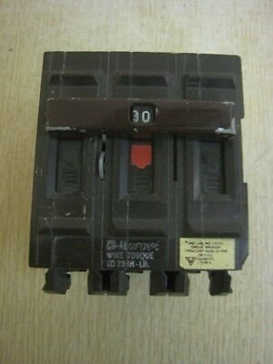 wadsworth breaker a330ni class ctl type a 3 pole 30 amp free shipping