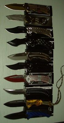 Wholesale lot of 10 pcs- Spring Assisted Folding Knife (Lot 1032)