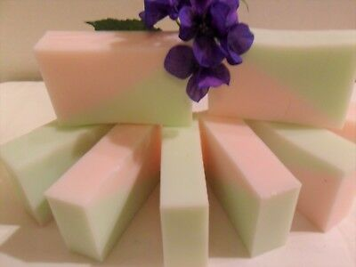 Handmade Rosemary Mint Soap Loaf 2 lb Sulfate Free Base  by Pleasuresoaps