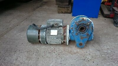 Bonfiglioli 1.5 kw  Electric motor and gearbox, braked,   3 phase