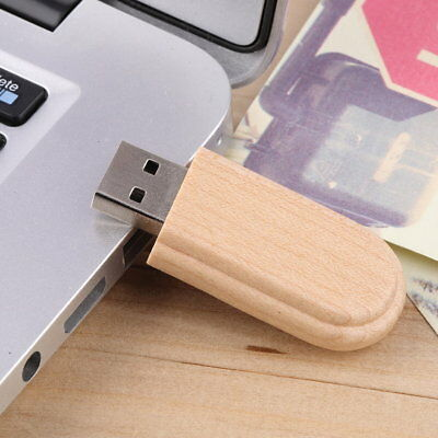 New Wooden Box USB 2.0 Flash Memory Stick Pen Thumb Drive 8GB VS